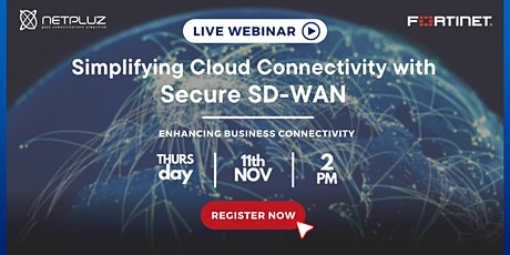 Simplifying Cloud Connectivity with Secure SD-WAN tickets