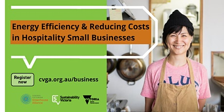 Hospitality Small Businesses: Energy Efficiency and Reducing Your Costs bilhetes