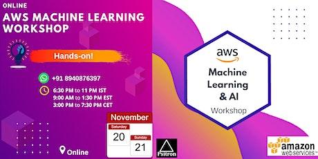 AWS Machine Learning Workshop (ONLINE) tickets