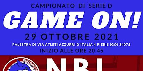 NBI Vs Don Bosco TS - Serie D - Gara 4 biglietti