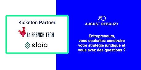 Conférences par August Debouzy, la French Tech et Kickston Partner tickets