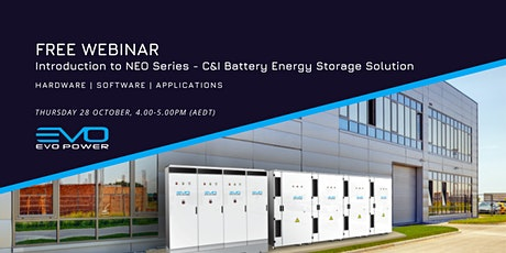 C&I Battery Energy Storage Solution Introduction Webinar tickets