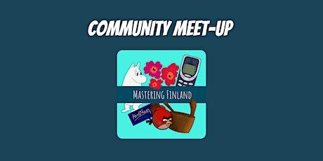 Mastering Finland Community Meet-up tickets