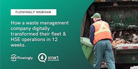 Webinar - How Smart Environmental automated their fleet & HSE processes tickets