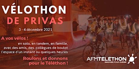Vélothon de Privas 2021 billets