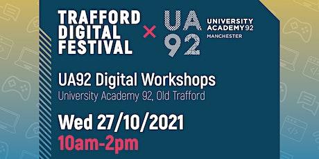 UA92 Digital Workshops tickets