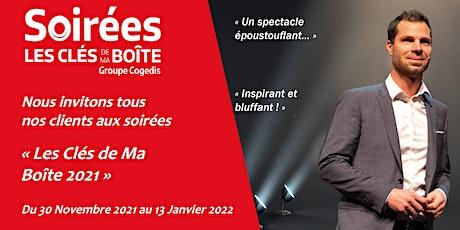La soirée du 07.12.21 à Saint-Brieuc billets