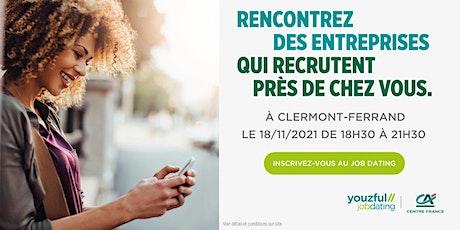 Job Dating à Clermont-Ferrand : décrochez un emploi ! billets
