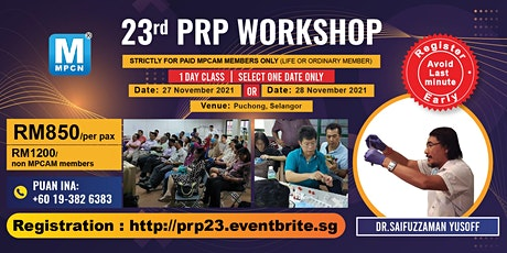 Basic PRP Introduction Workshop (23rd) - [THIS IS NOT A FREE EVENT] tickets