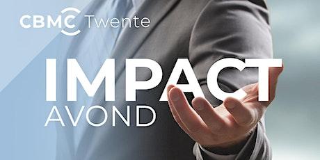 Impact avond CBMC | 18 november | Twente tickets