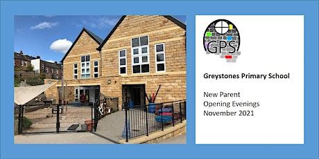 New Parent Open Evenings - November 2021 tickets