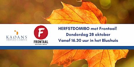 HERFSTDOMIBO met Frontaal tickets
