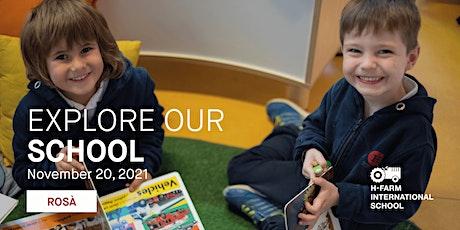 Open Day - Explore H-FARM International School in Rosà biglietti