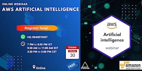 AWS Artificial intelligence webinar tickets