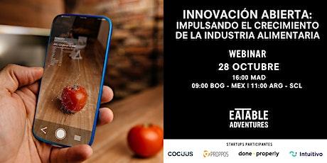 Innovación abierta: impulsando el crecimiento de la industria alimentaria boletos