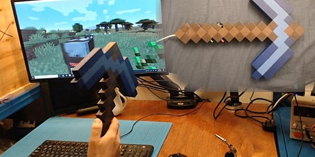 Build Your Own Game Controller Minecraft tickets