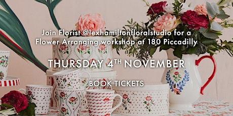 Cath Kidston Flower Arranging Workshop tickets