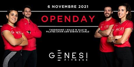Open Day Genesi Tassignano - Pilates Chair con Sabina e Carlo biglietti