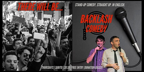 Backlash Comedy - THE RETURN! - English Comedy Show tickets