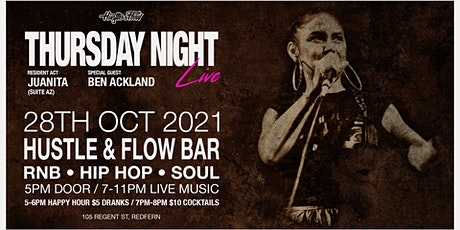 Thursday Night Live - Live RnB Experience tickets