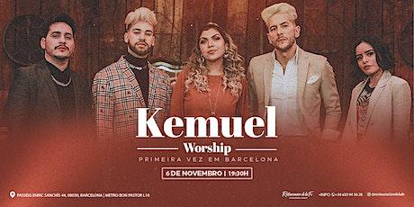 Kemuel Worship | Barcelona entradas