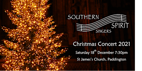 Southern Spirit Singers Christmas Concert tickets
