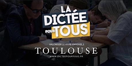 La dictée pour tous à Toulouse billets