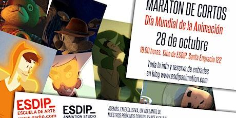 Maratón de cortos ESDIP entradas