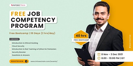 40hrs Free Bootcamp Job Competency Program tickets