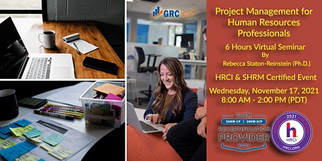6hr Virtual Seminar - Project Management for Human Resources Professionals tickets