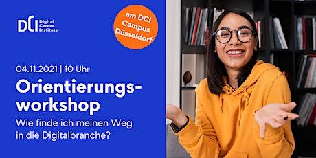 Orientierungsworkshop in Düsseldorf - Dein Weg in die Digitalbranche! Tickets