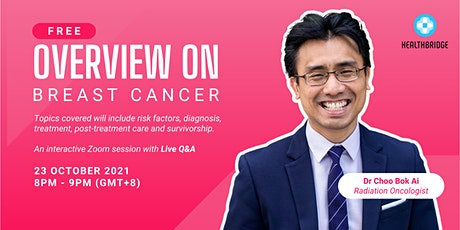 Overview of Breast Cancer 1 tickets