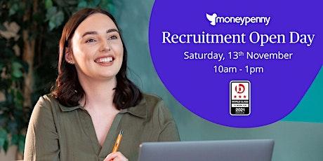 Recruitment Open Day tickets