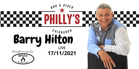 Barry Hilton Live @ Philly's Edinburgh tickets