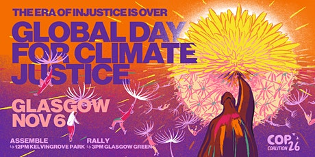 COP26-Aberdeen to Glasgow Free Coach travel, Global Day for Climate Justice tickets