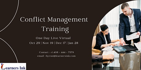 Conflict Management Training - Toronto, ON tickets
