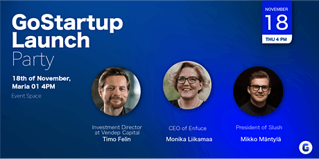 GoStartup Launch Event tickets