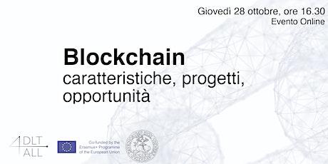 Blockchain: caratteristiche, progetti, opportunità entradas