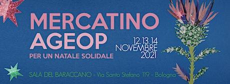 Mercatino Ageop – Per un Natale Solidale biglietti