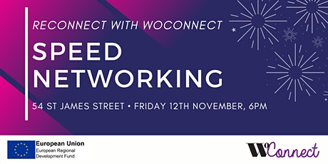 Reconnect with WoConnect - Speed Networking tickets