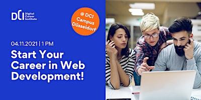 Workshop in Düsseldorf - Start Your Career in Web Development!