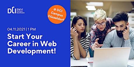 Workshop in Düsseldorf - Start Your Career in Web Development! billets