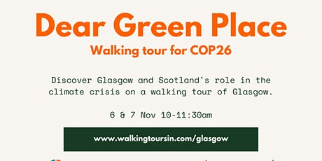 Dear Green Place: Glasgow's Eco Walking Tour tickets