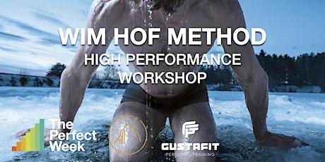 Wim Hof Method ~ High Perfomance Workshop @Cali Club Groningen tickets