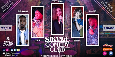 Strange Comedy Club - #96 billets