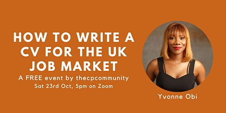 How To Write A CV for the UK Job Market tickets