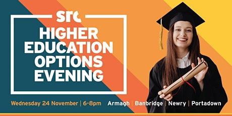 Higher Education Options Evening tickets