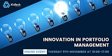 Innovation in Portfolio Management tickets