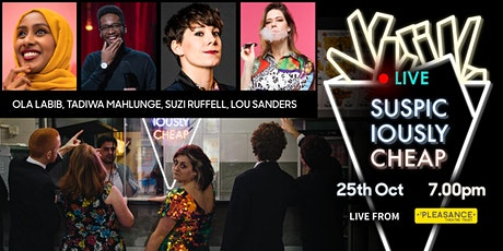 Suspiciously Cheap - October 25th - Streaming Tickets tickets