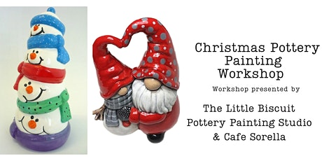 Pottery Painting Workshop with The Little Biscuit Pottery Painting tickets